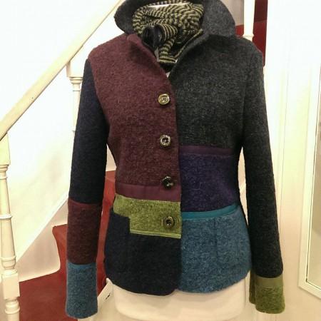 giacca di lana cotta