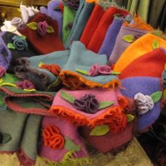 Guanti di lana cotta