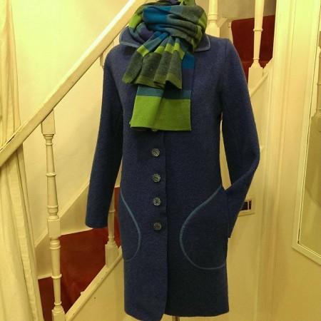 cappotto con sciarpa