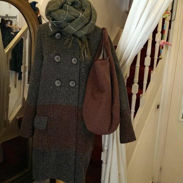 giacca e borsa