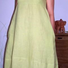 Vestito di lino verde