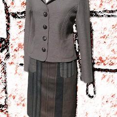 Completto giacca lana cotta e gonna